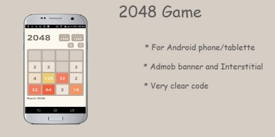 2048 - Android Game Source Code