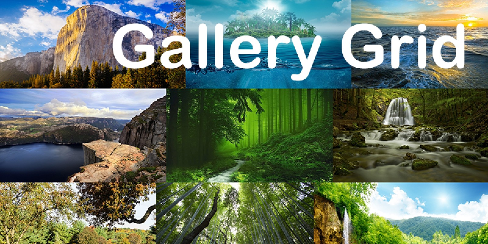 Gallery Grid For Angular And Ionic