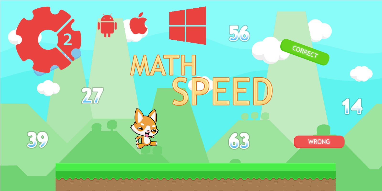 Math Speed - Construct 2 Game Template