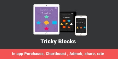 Blocks - iOS Universal Game Swift