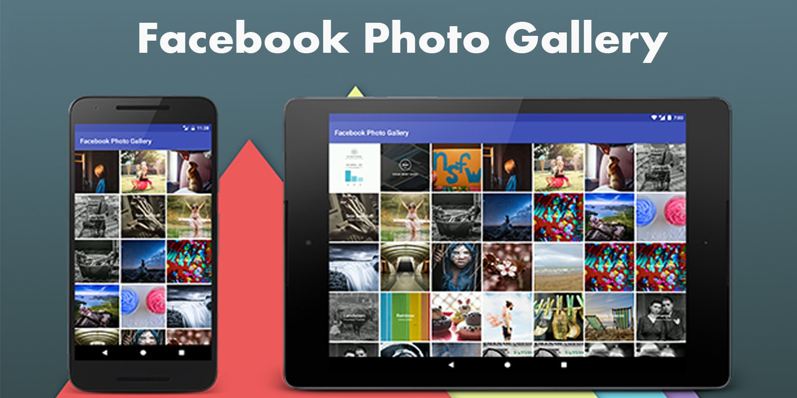 Facebook Photo Gallery - Android Source Code