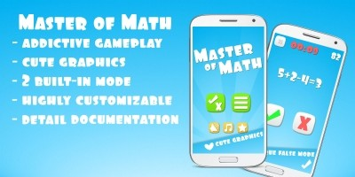 Master Of Math Unity Game Template