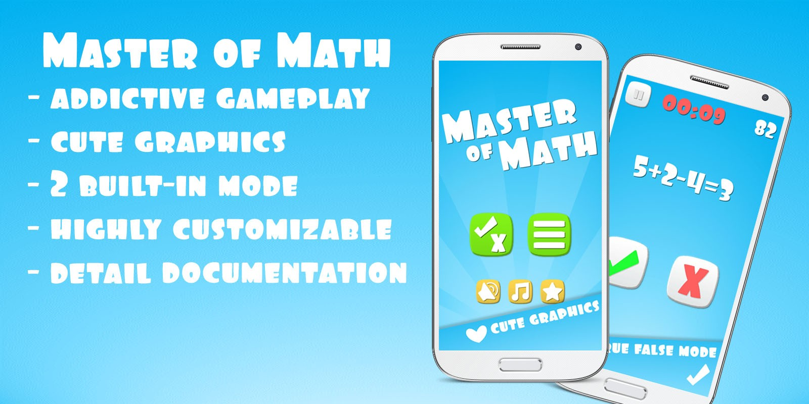 Master Of Math Unity Game Template - Educational Game Templates For ...