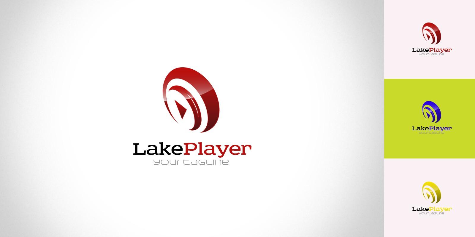 LakePlayer - Logo Template
