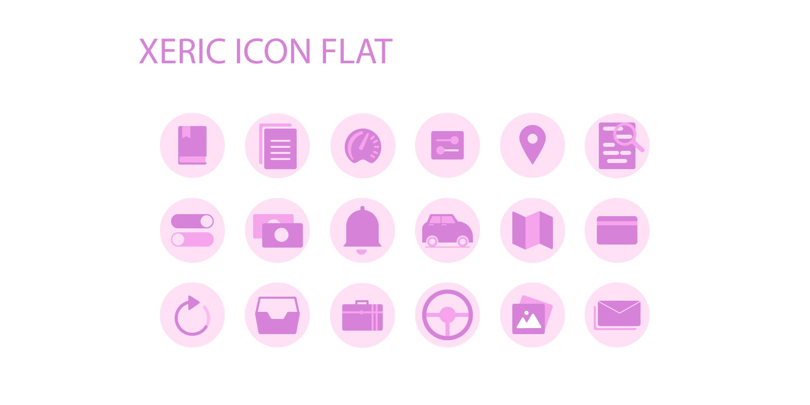 Xeric Flat Icon Pack