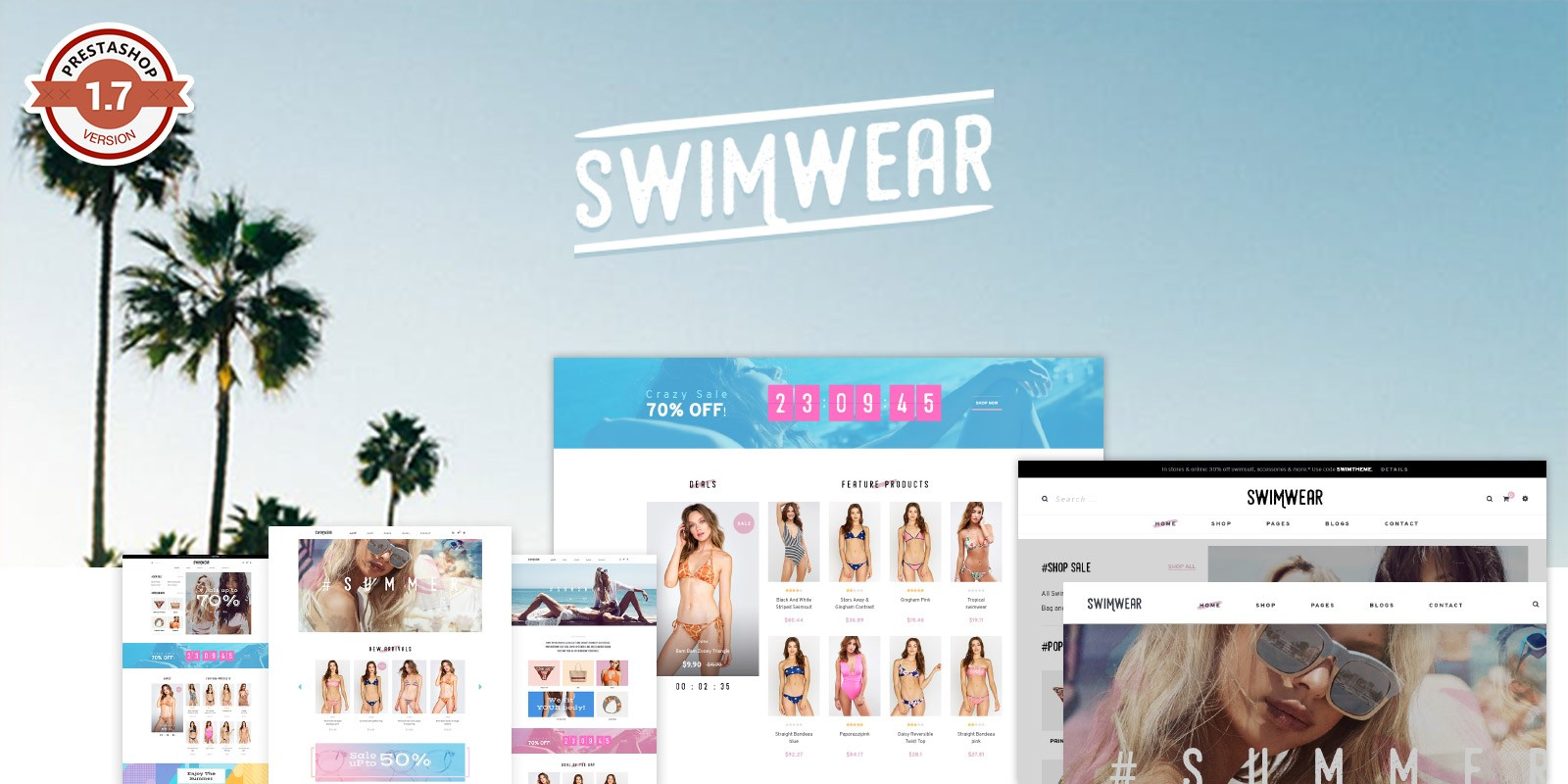 Pts Swimwear - PrestaShop Theme