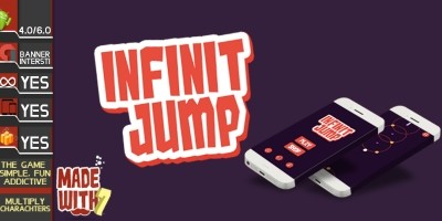 Infinite Jump - Buildbox Game Template