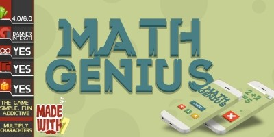 Math Genius - Buildbox Game Template