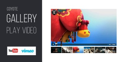 Coyote Gallery Play Video - WordPress Plugin