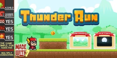 Thunder Run - Buildbox Game Template