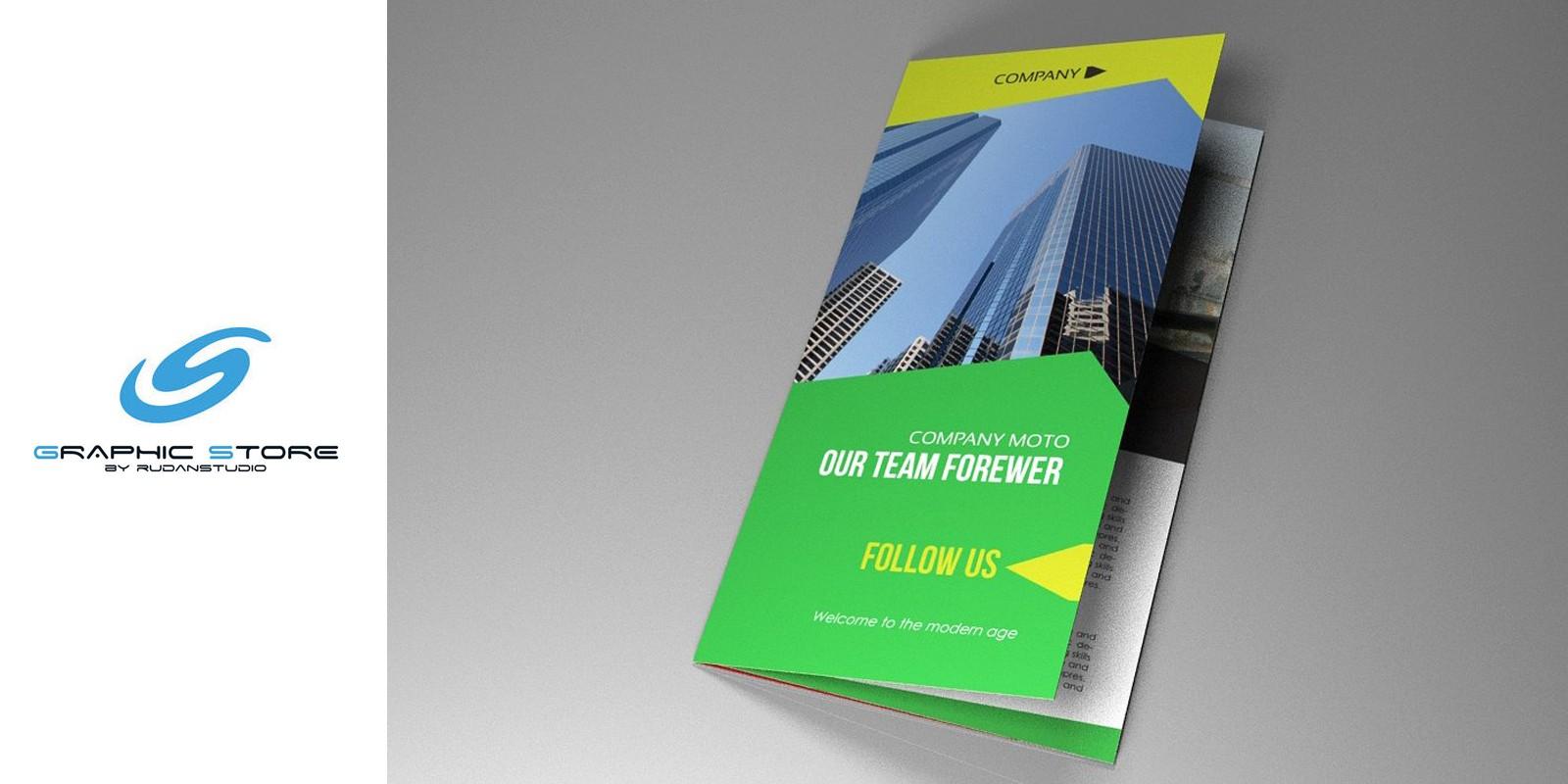 Indesign Brochure Corporate Vol 5