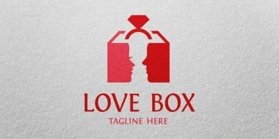 Love Box - Logo Template