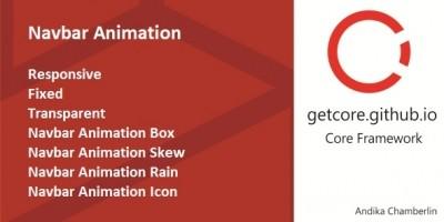 Navbar Animation