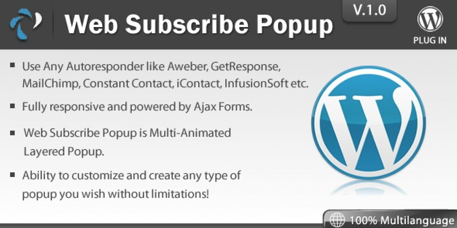 Web Subscribe Popup - Wordpress Plugin
