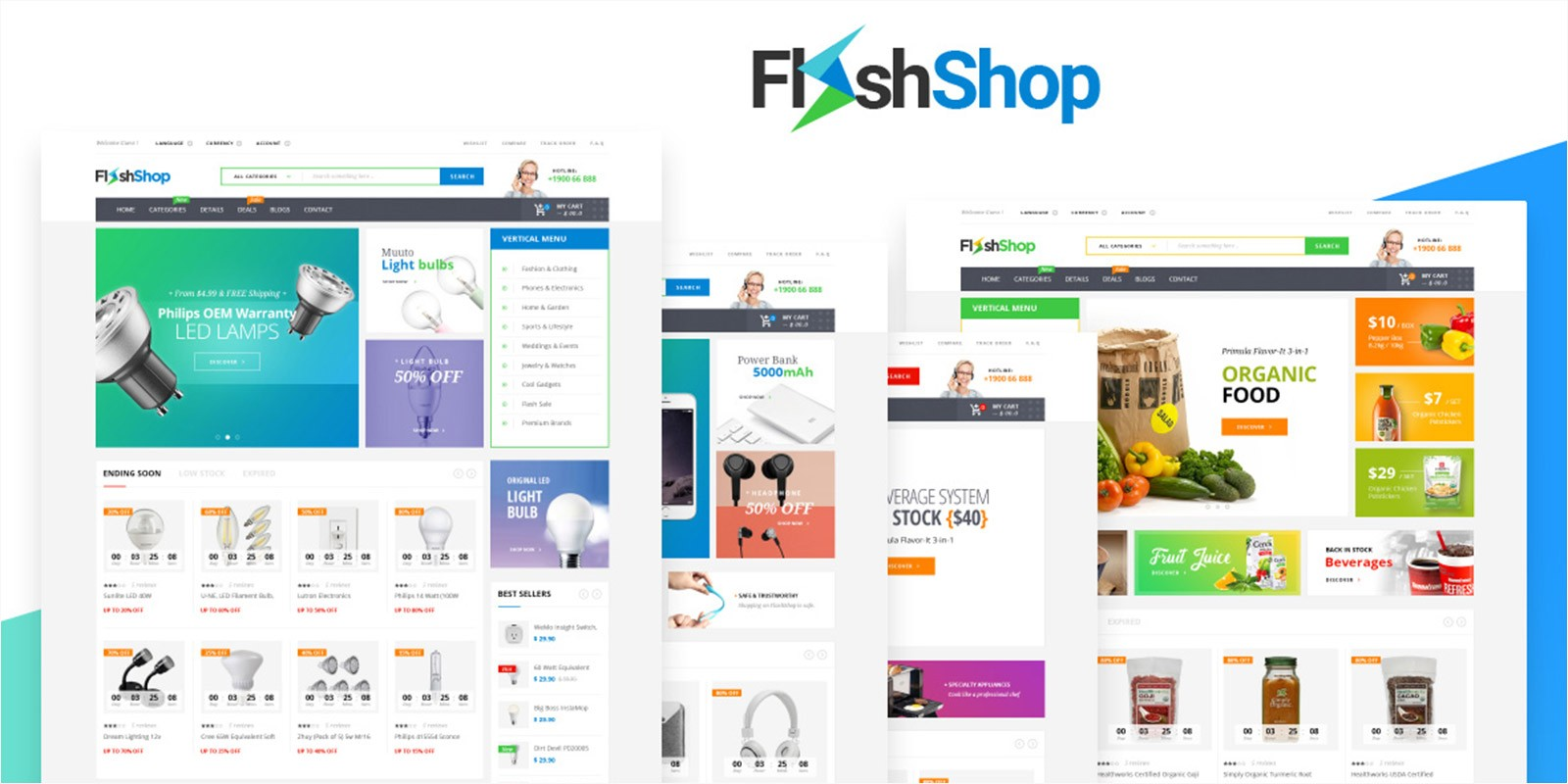 Flashshop - Multipurpose Premium WordPress Theme