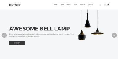 Outside - Minimalist WooCommerce WordPress Theme