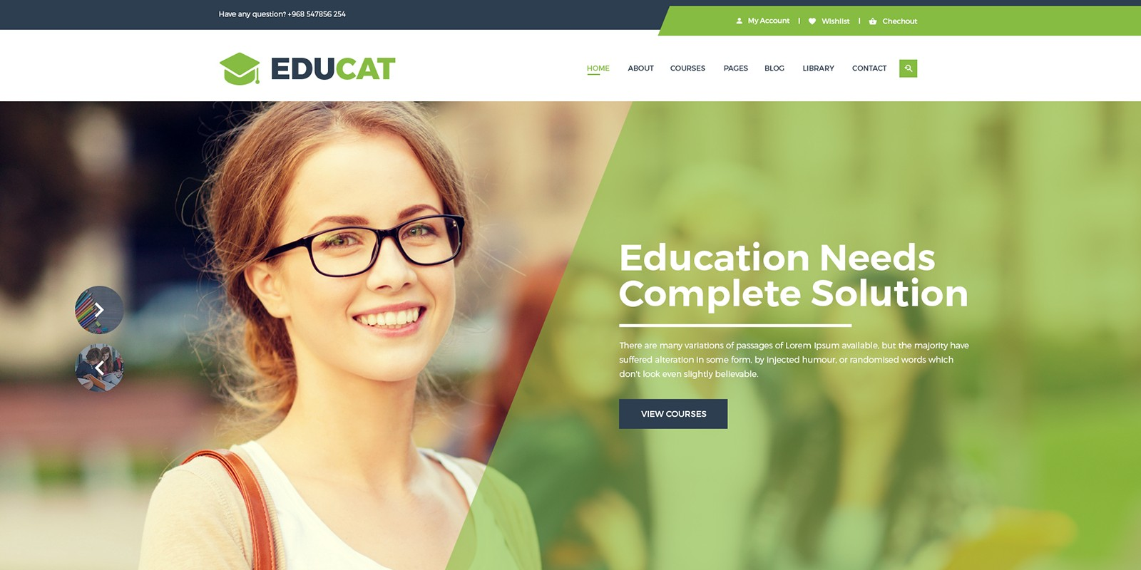 Educat - Education HTML Template
