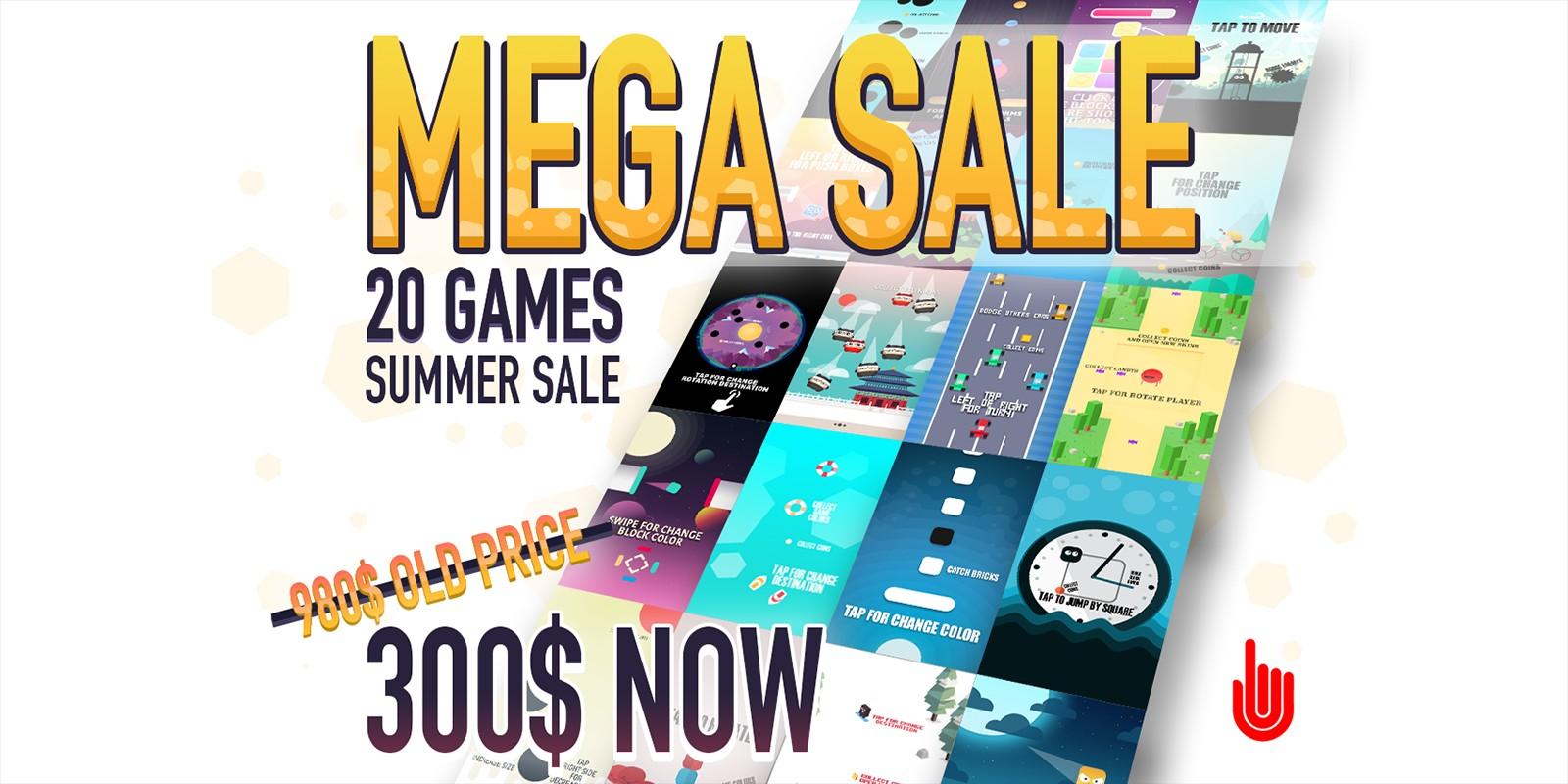 20 iOS Game Templates Mega Sale