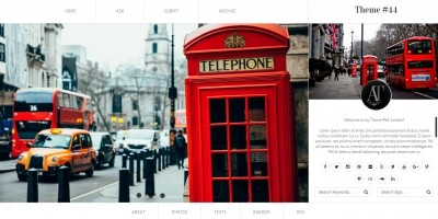 London - Tumblr Theme