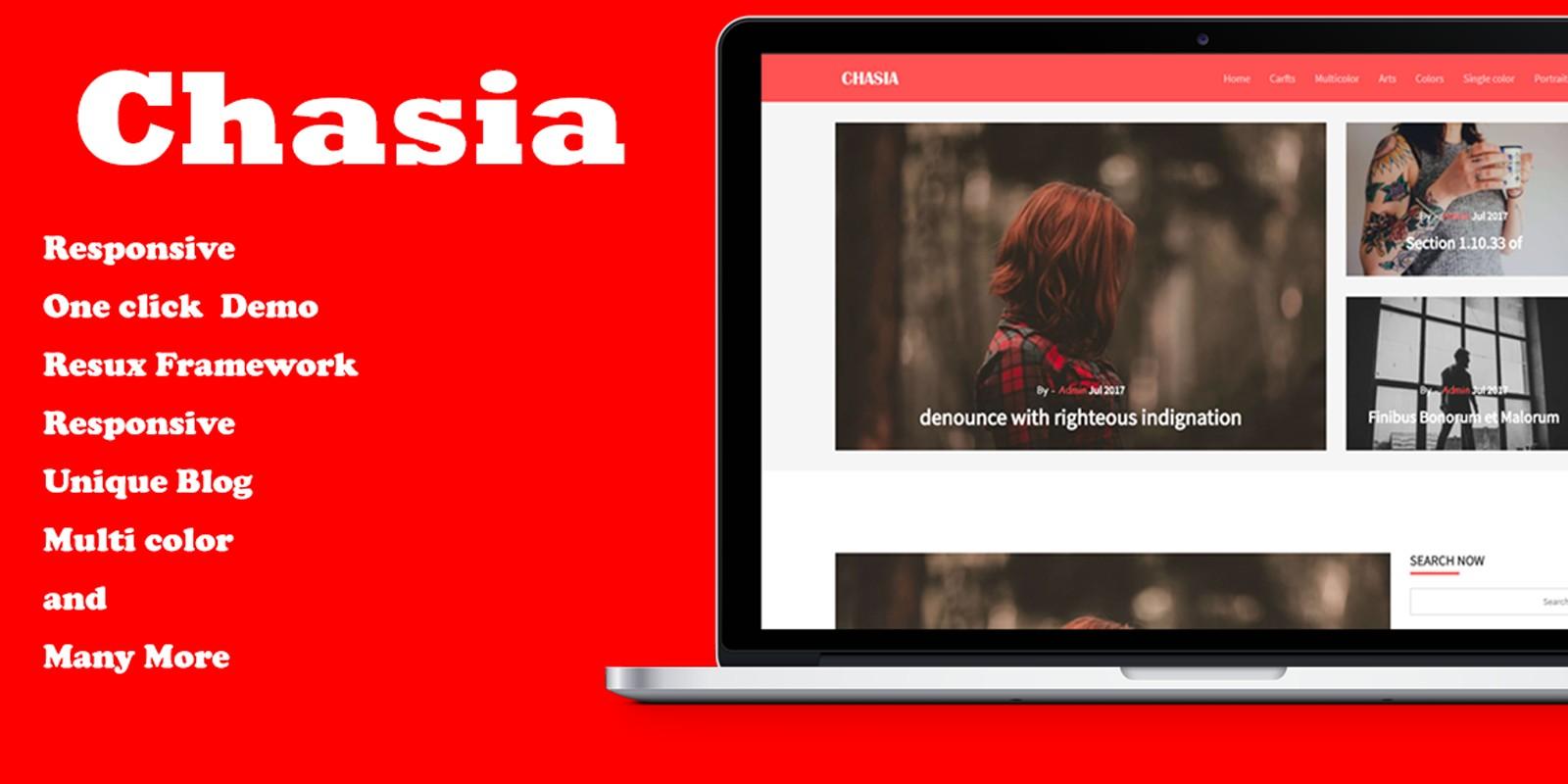 Chasia - Classic WordPress Blog Theme
