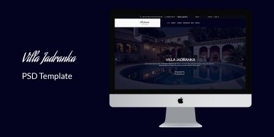 Villa Jadranka - Website PSD Template