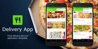 Food Delivery Restaurant App - Android Source Code