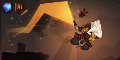 Juggernaut 2D Game Character Sprites