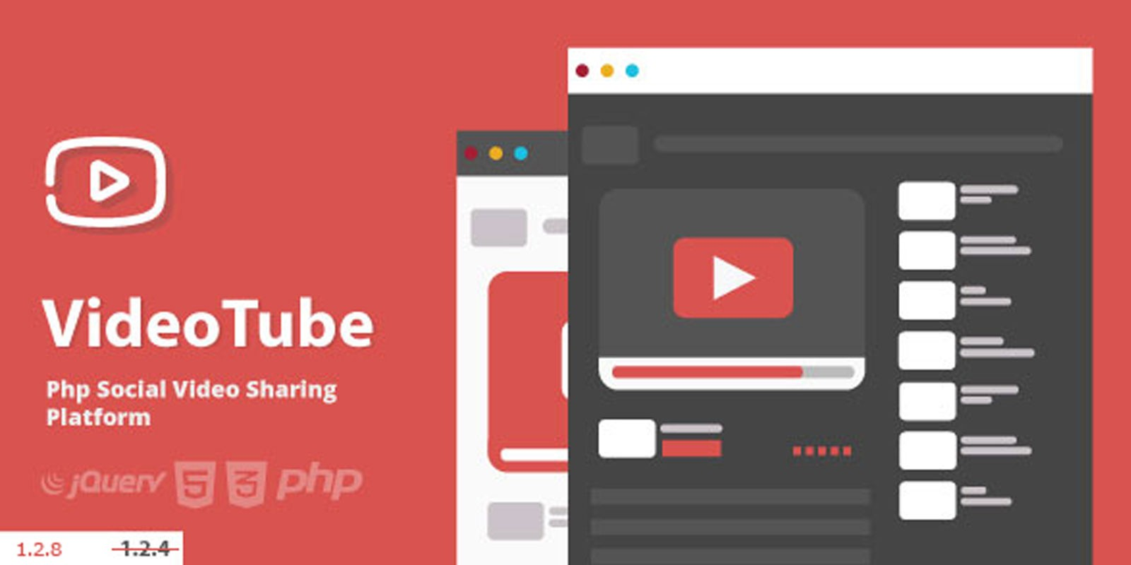 VideoTube - Video CMS