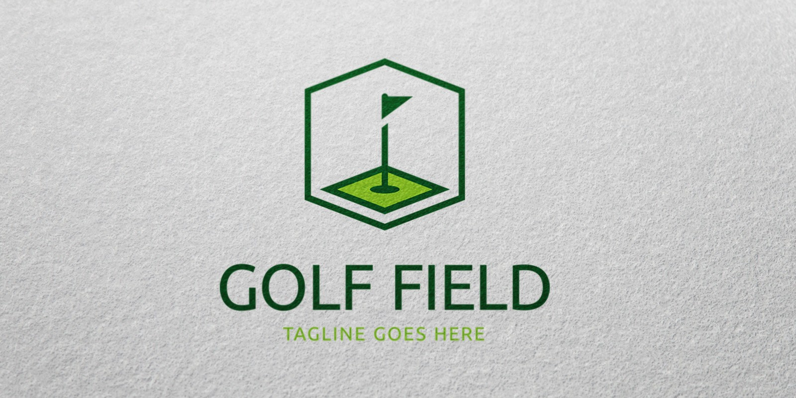 Golf Field - Logo Template