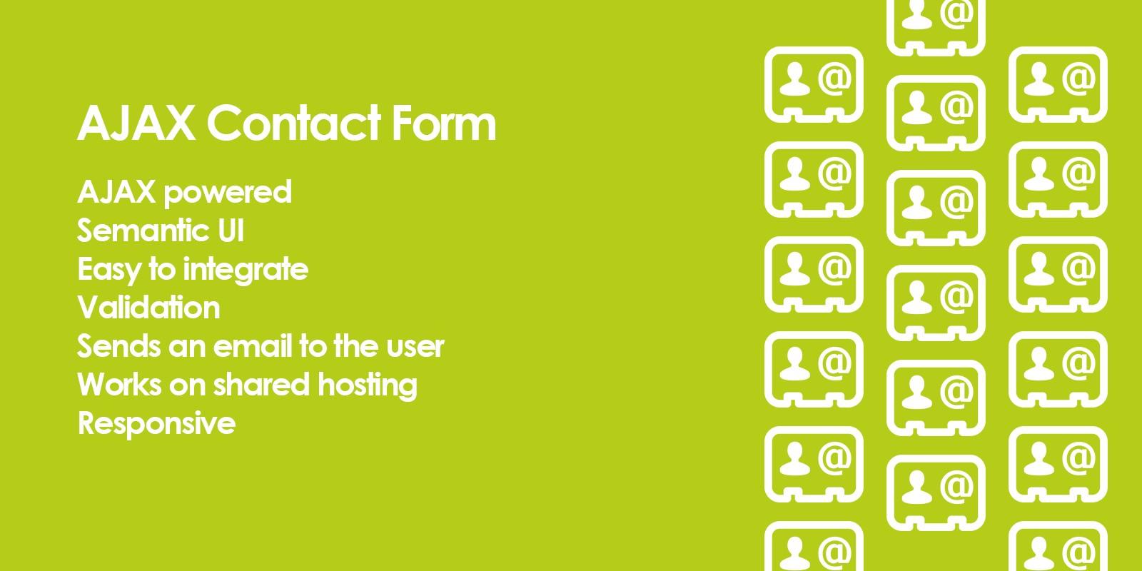 AJAX Form PHP Script