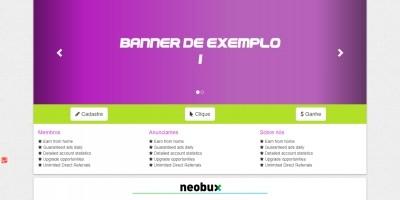 LaraBux - PTC PHP Script