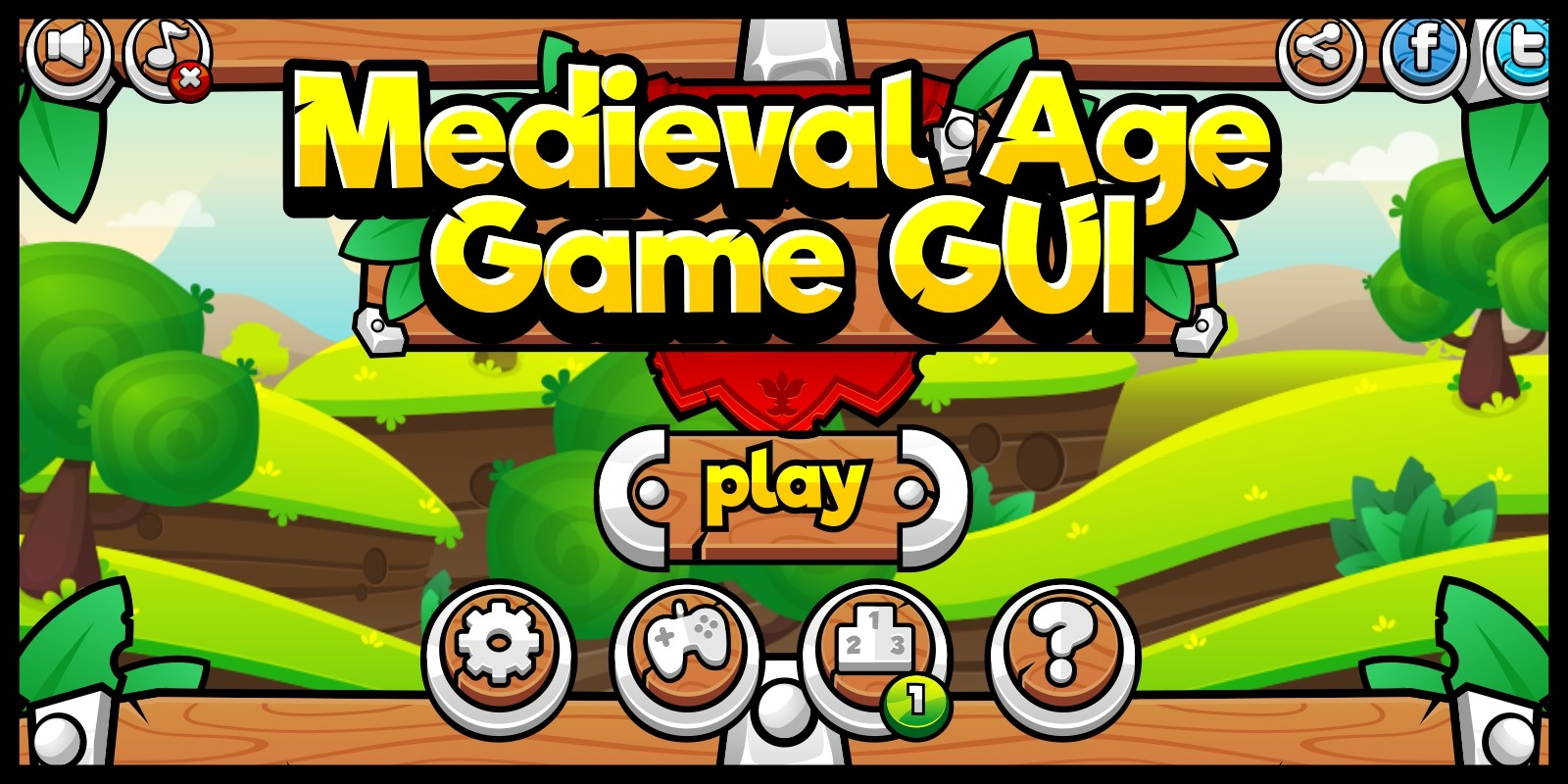 Medieval Age - Game GUI