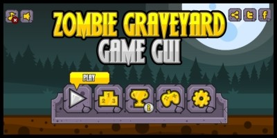 Zombie Graveyard - Game GUI
