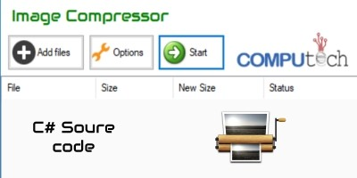 C# Image Compressor Source Code