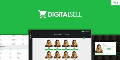 Digital Sell PHP Script