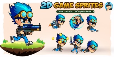 2D Game Character Sprites 9