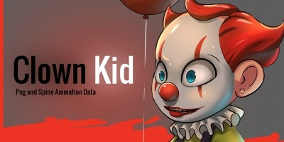 Clown Kid 2D