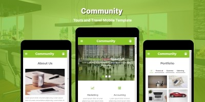 Community - Multipurpose Mobile Template