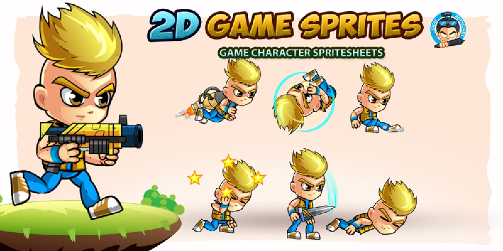 2D Game Character Sprites 10
