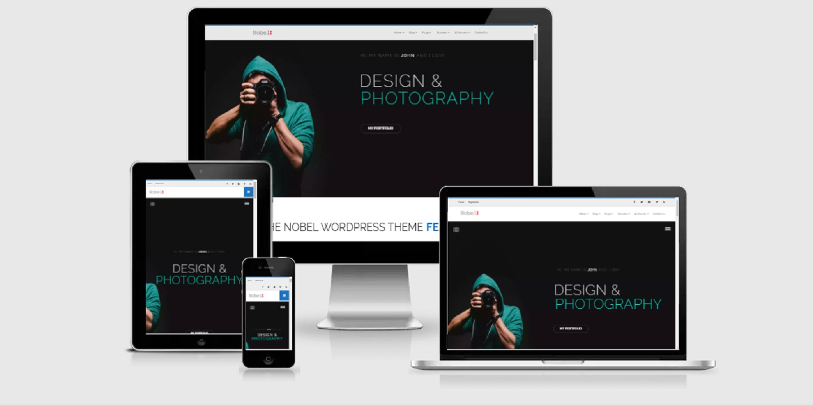 Nobel - Responsive Multi-purpose WordPress Theme