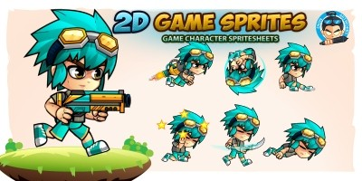 2D Game Character Sprites 14