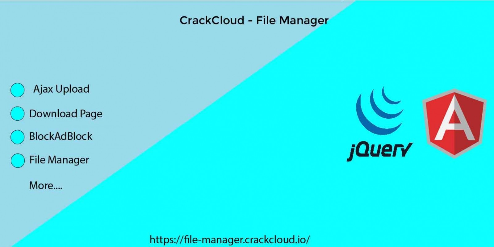 Advanced File Manager And Uploader
