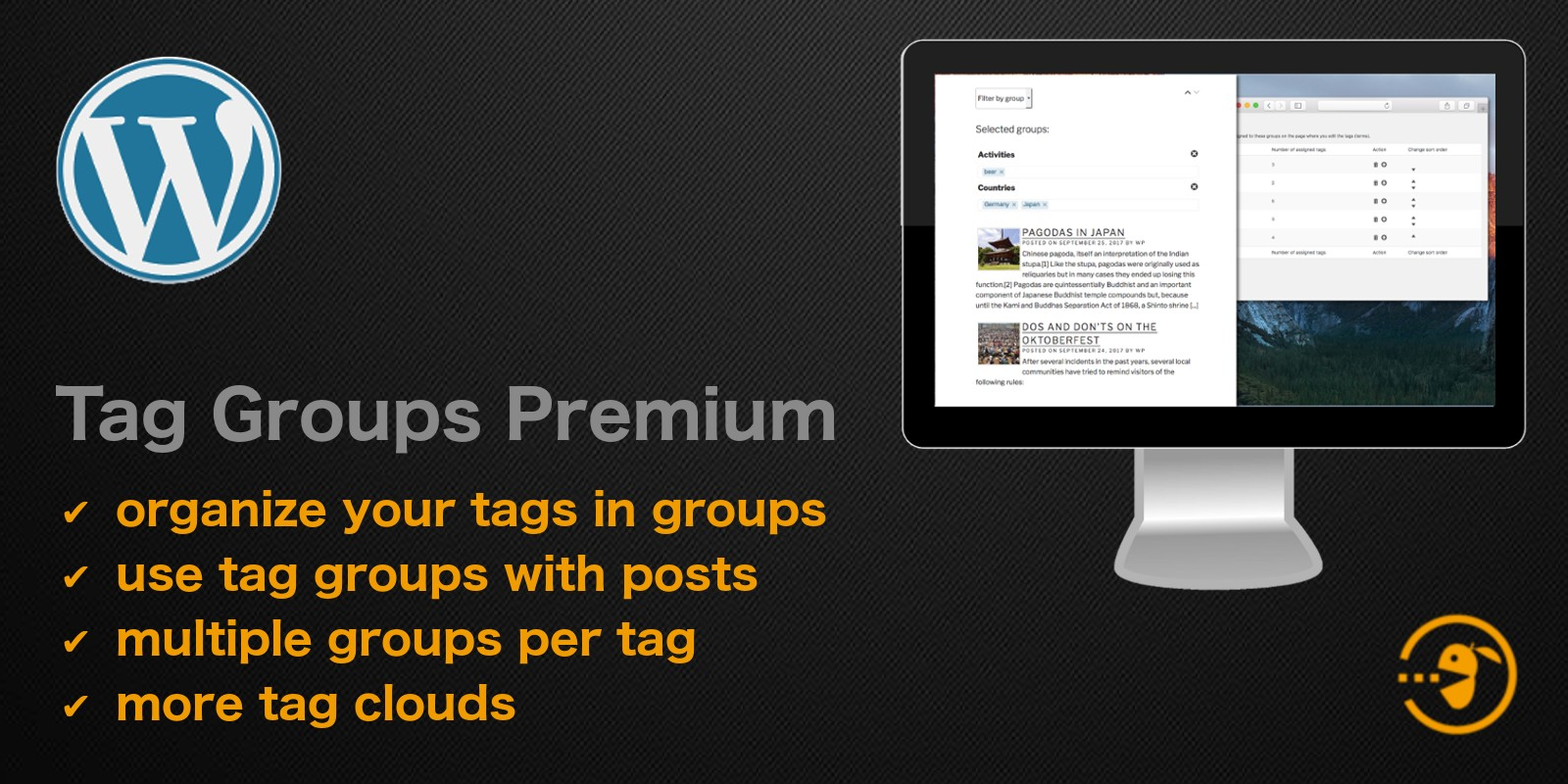 Tag Groups Premium - WordPress Plugin