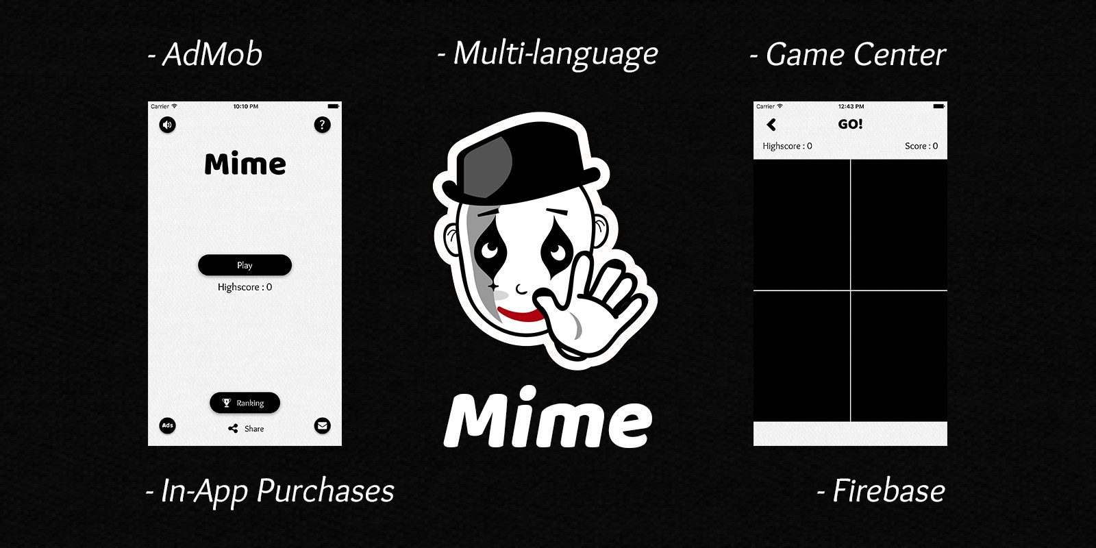 Mime - iOS Memory Game