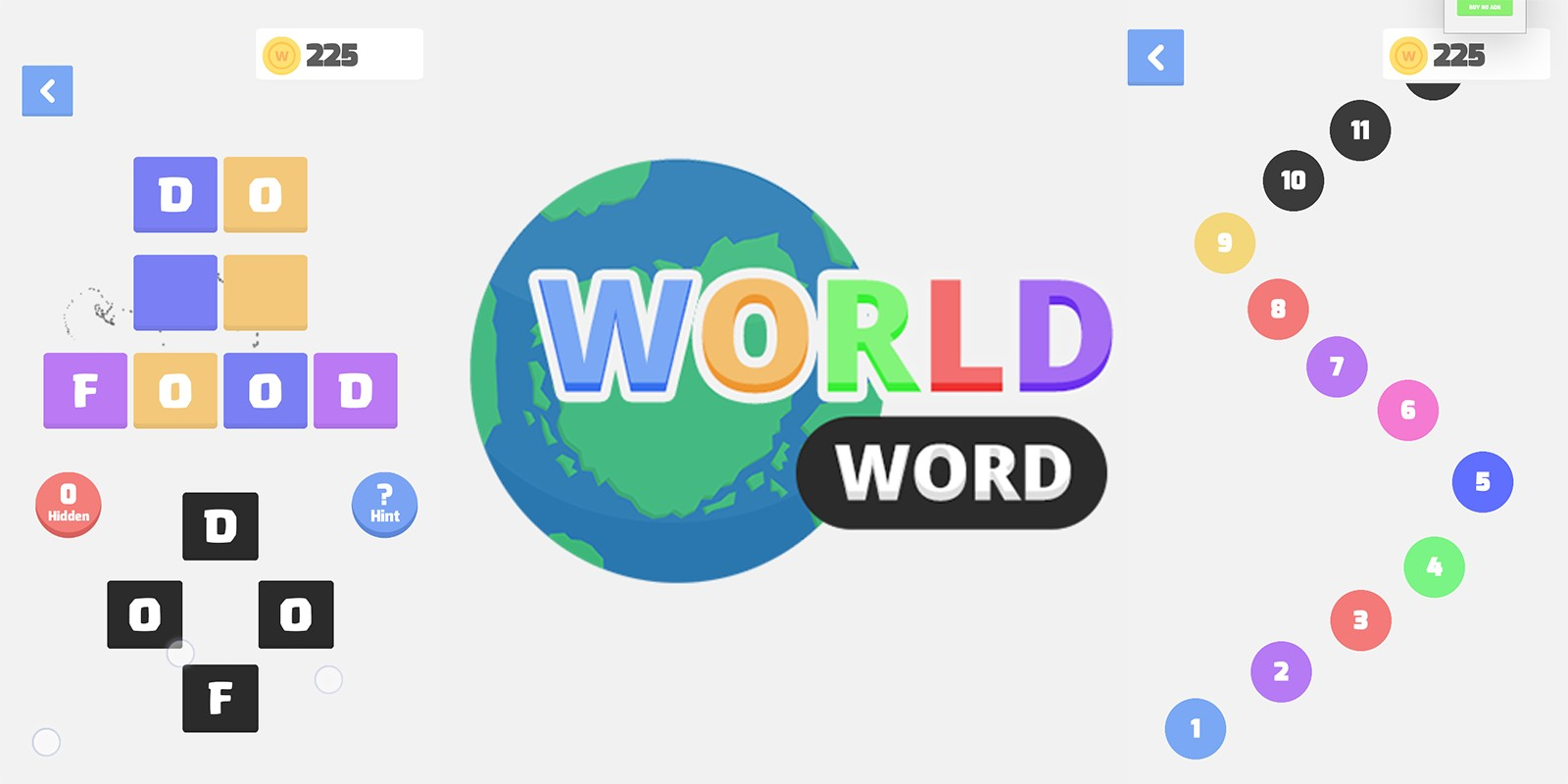 World Words - Unity Word Puzzle Game