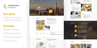Architecture Development HTML Template