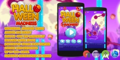 Halloween Madness - Android Game Template