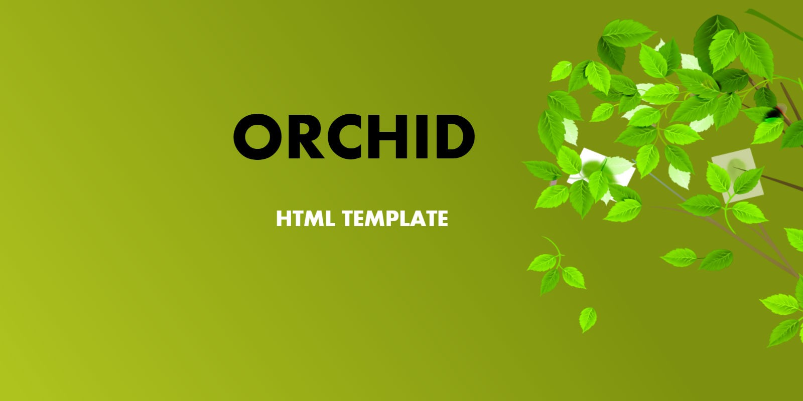 Orchid - HTML Template