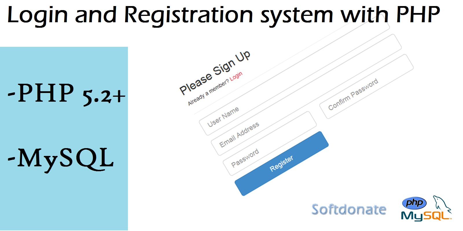 Login And Registration System PHP