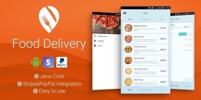 Top 20 Food App Templates For Android 2019 | Codester